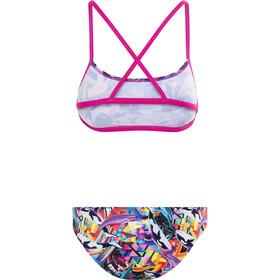 speedo Digi 2 Piece bikinit Naiset, pink/orchid/black